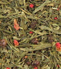 Зеленый ароматизированный чай Санта-Барбара