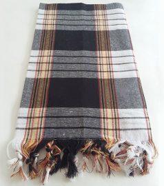 Полотенце для хамама «Классик» (цвет черный)
