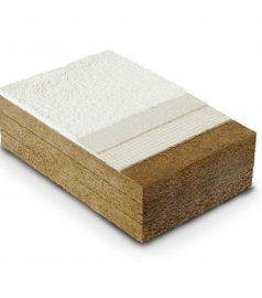 Наружная теплоизоляция STEICO protect. Утепление стен, 40 мм.