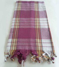 Пештемаль для хамама «Классик» (цвет фиолетовый)