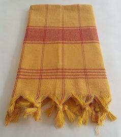 Полотенце для хамама «Классик» (цвет жёлтый)