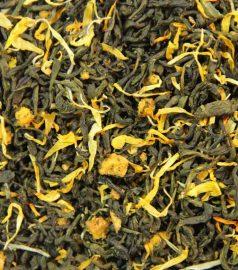 Зеленый ароматизированный чай Абрикосовый сад