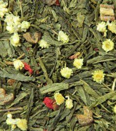 Зеленый ароматизированный чай Дюшес
