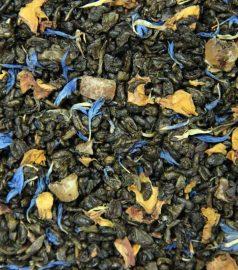 Зеленый ароматизированный чай Крем-алое