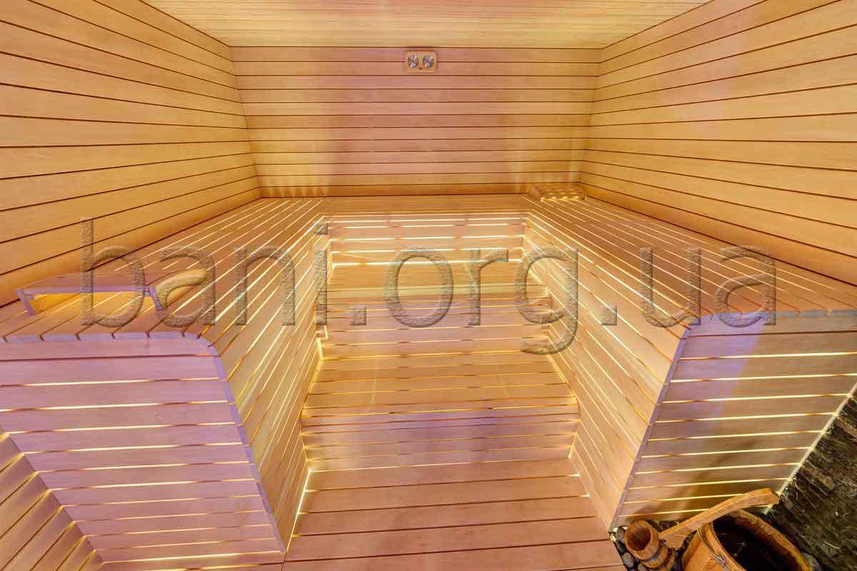 баня, парная, построенная компанией ПроектСервисКом в Киеве
