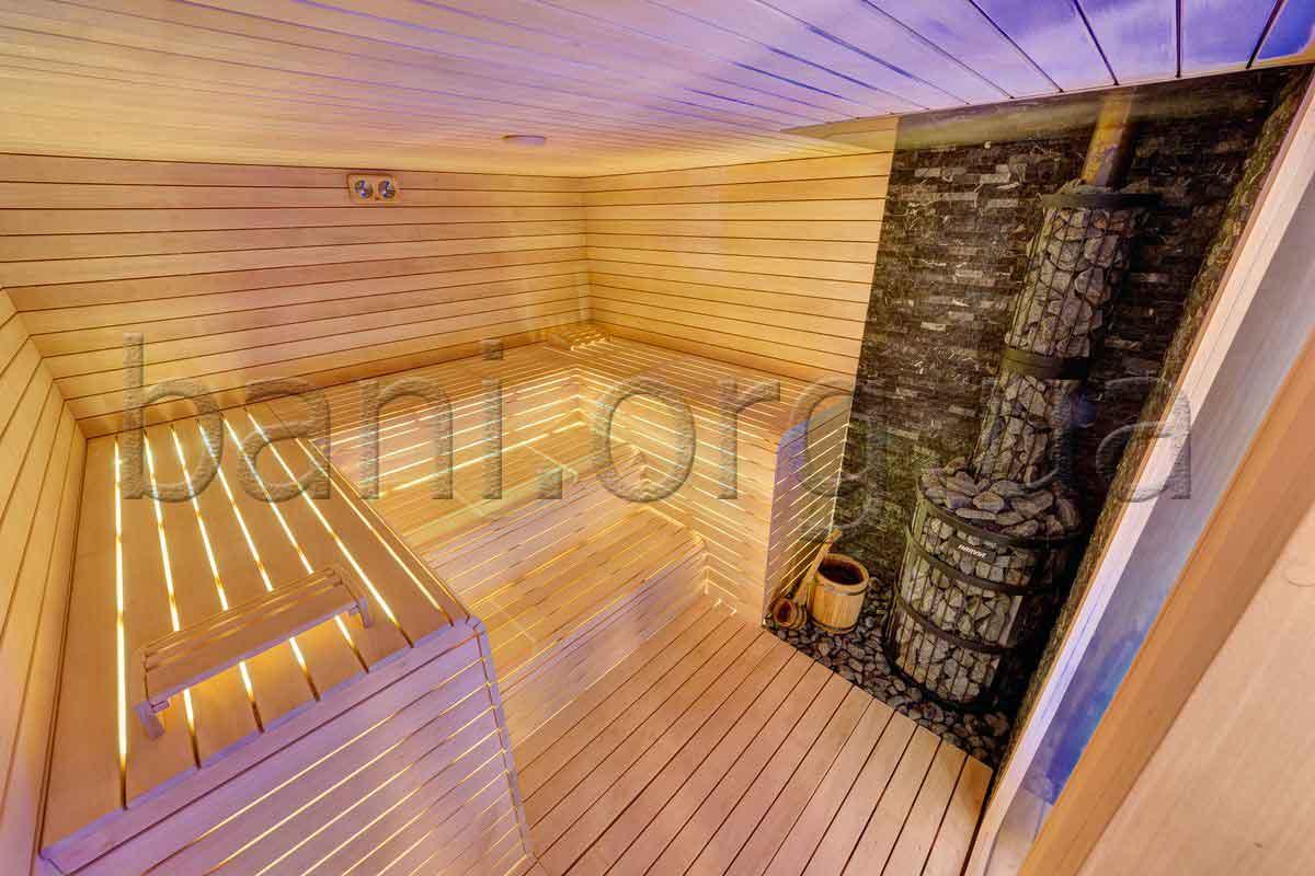 Русская баня, парная