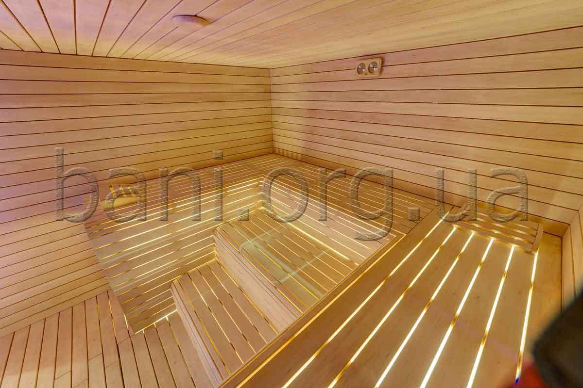 Русская баня, парная, построенная компанией ПроектСервисКом в Киеве