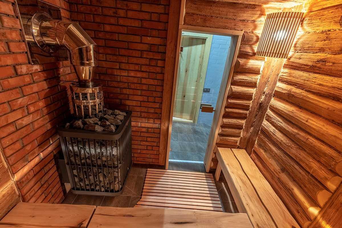 Фото русской бани, парной в Киеве, фото работ компании ПроектСервисКом