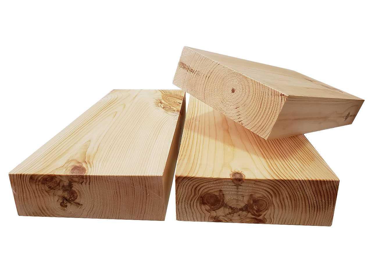 Сосновый брус строганный сухой 150x50 мм