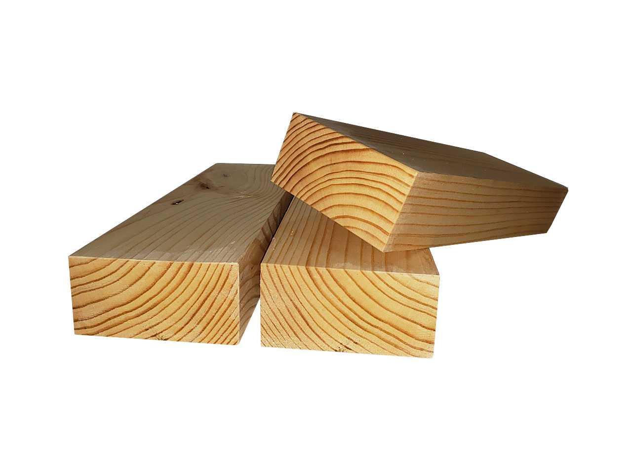Сосновый брус сухой строганный 100х50 мм