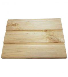 Вагонка деревянная сосна, евровагонка 80×13, длина от 0,5 м. до 0,8 м.