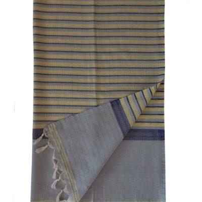 Пештемаль для хамама «Классик» (цвет сине желтый)