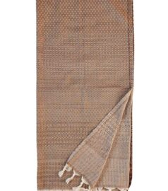 Полотенце для хамама «Классик» (льняное с узором)