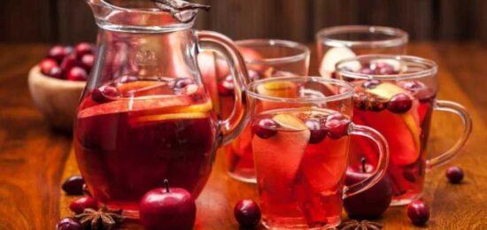 5 полезных напитков для бани