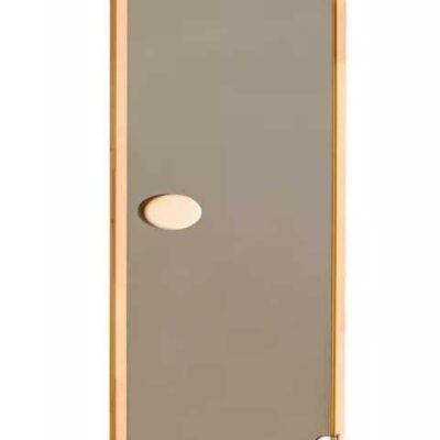 Дверь стеклянная стандартная шиншилла 80*190 см